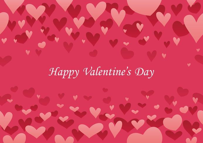 Abstrakter nahtloser Hintergrund des Valentinstags.