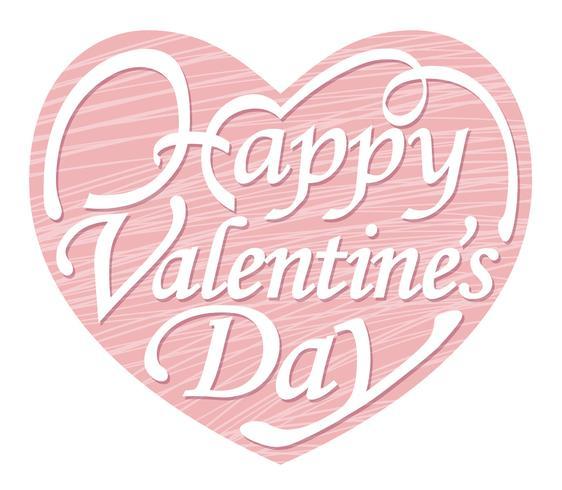 Valentine's Day heart-shaped logo/icon.