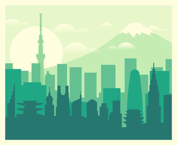 Ilustración de tokio