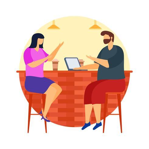 coffeeshopvergadering