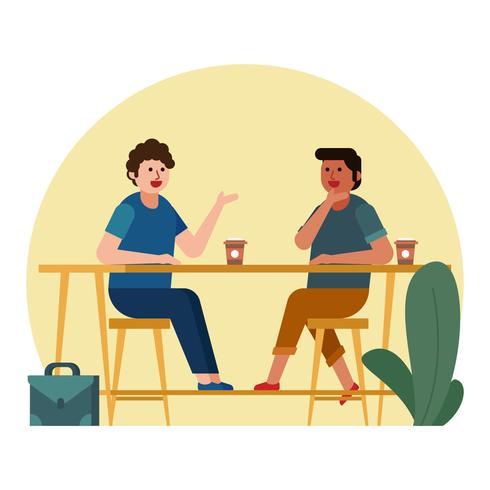 kafé möte
