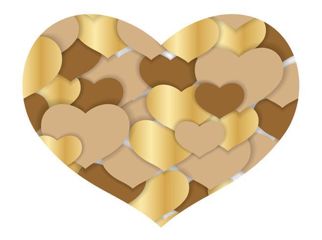 Valentin abstrait coeur forme fond.