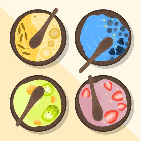 Piatto colorato Acai Bowl