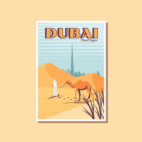 Postcard of Desert Safari Dubai Tourism Activity