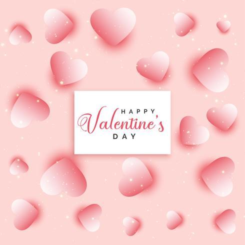 Saint Valentin coeurs modélisme
