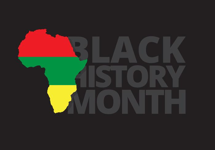 Black History Month Ilustration vector