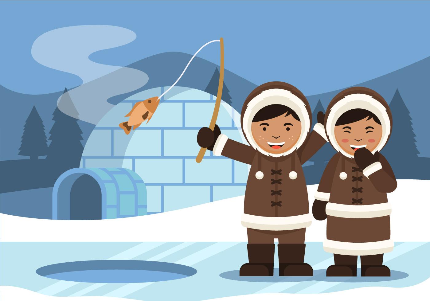 все об эскимосах в картинках шевченко начал