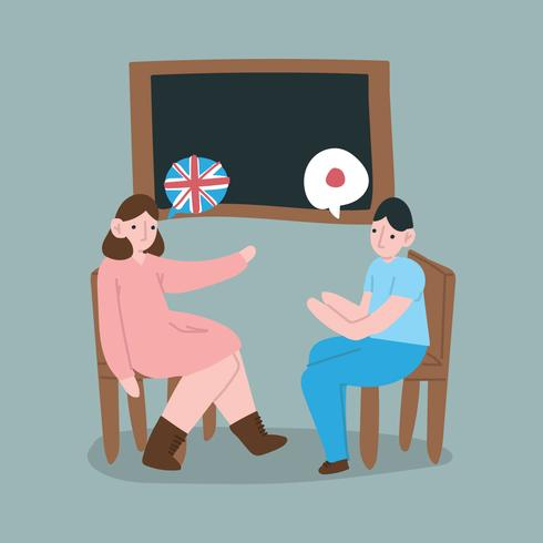 Students Talking In Different Languages