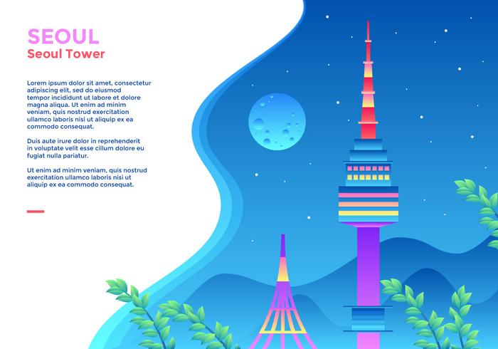 Seoul Tower Webbanner