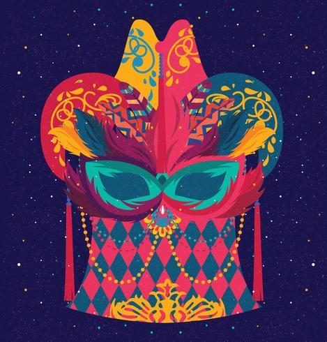 Carnevale Di Venezia maskerontwerp