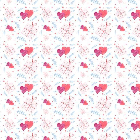 Leuke Valentijnsdag patroon