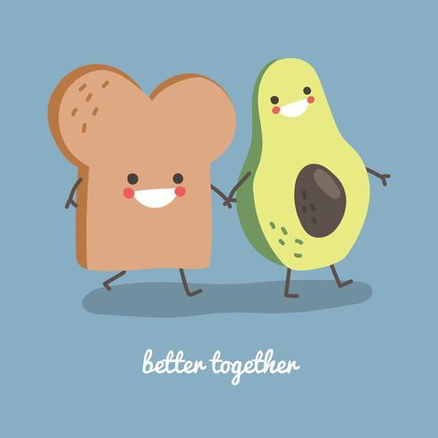 Avocado und Toast sind besser zusammen