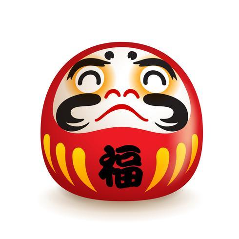 Bambola giapponese Daruma