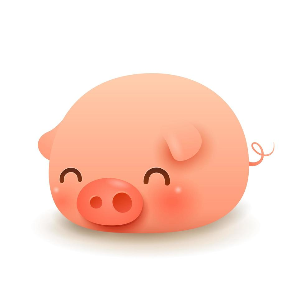 The Little Pig vector
