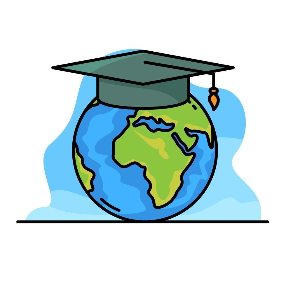 Ilustração Global de Educação