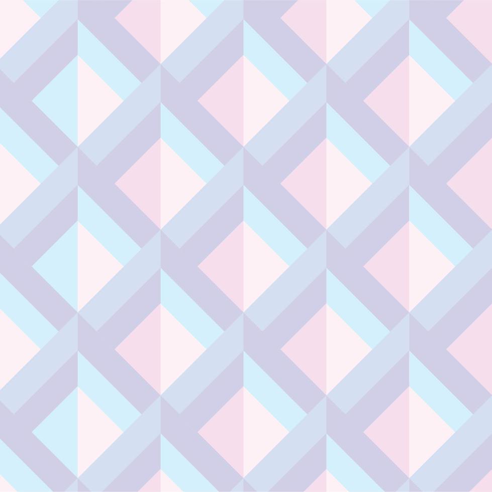 Fondo geométrico pastel