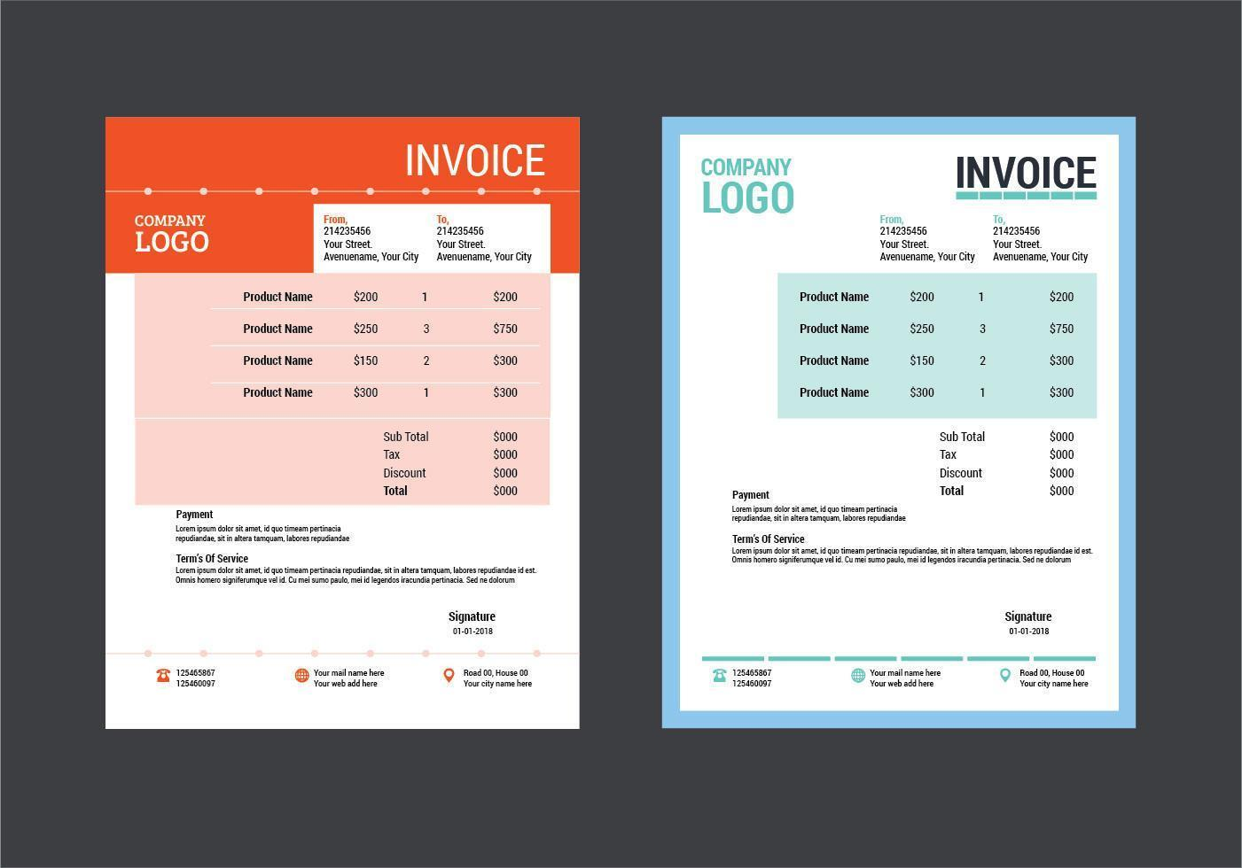 Invoice Template Design from static.vecteezy.com
