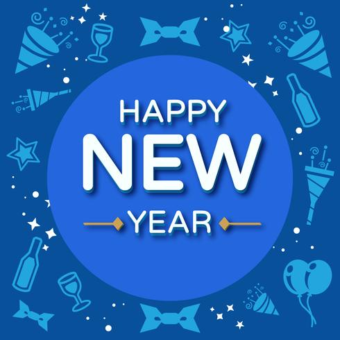 Bonne année Instagram Post