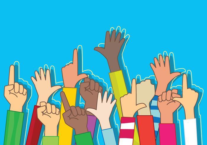 Ilustración de comunidades multiculturales