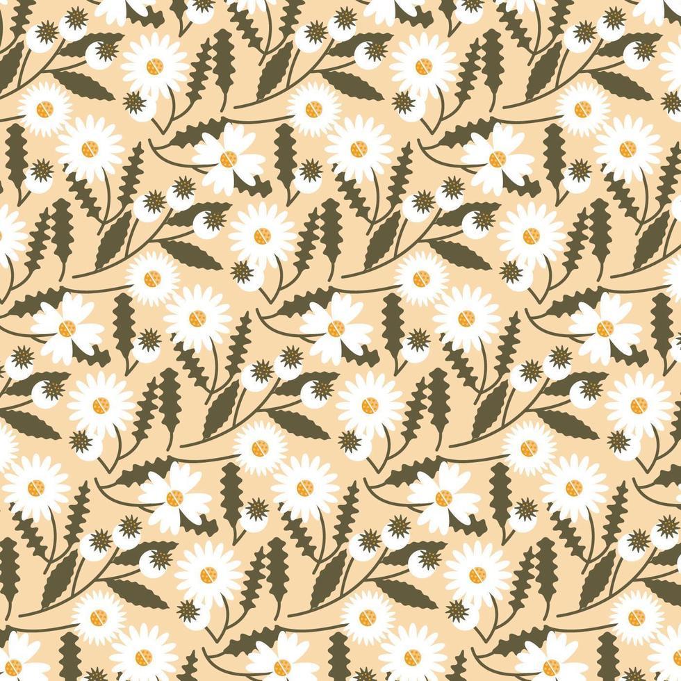Vector sin patrón floral