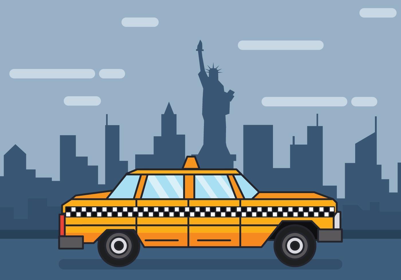 New York vektor illustration