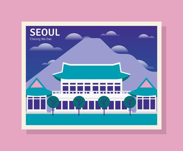 Ilustração de Seul