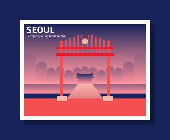Illustration de Séoul