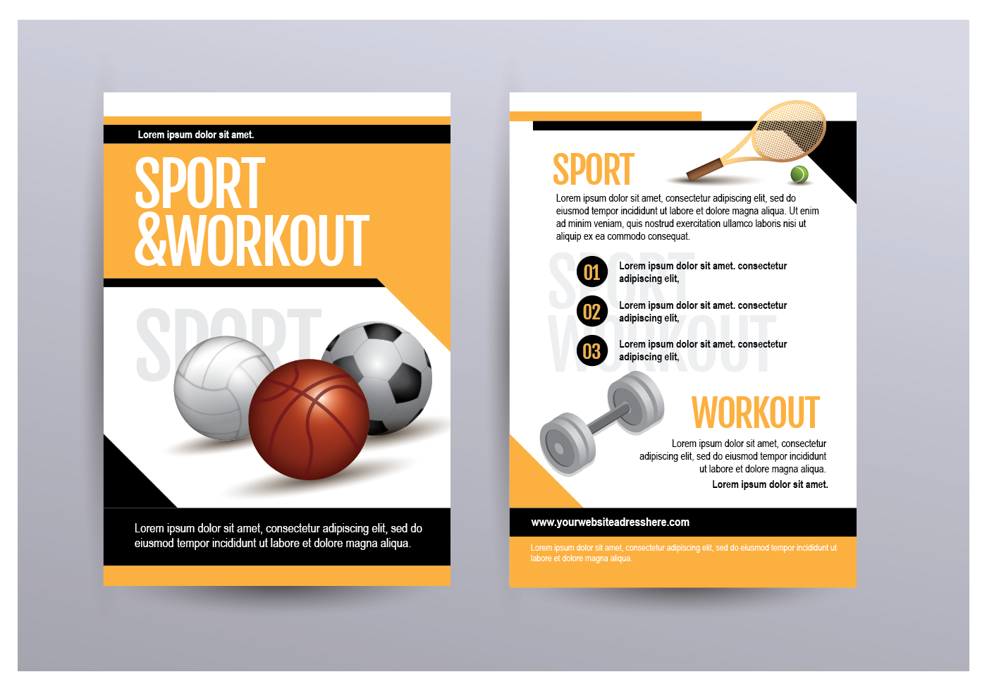 Sport And Workout Flyer