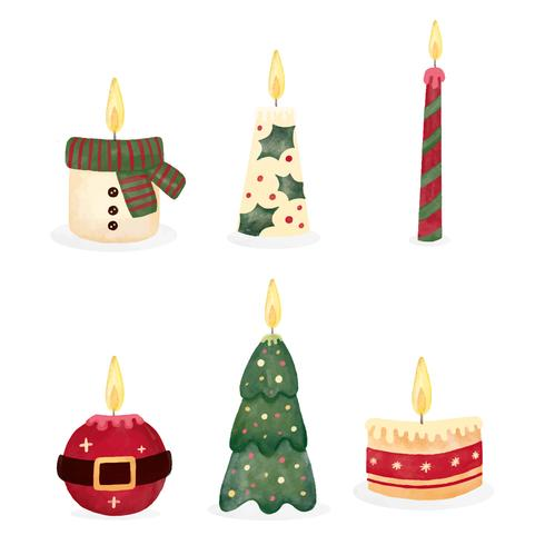 Cute Christmas Candle Collection