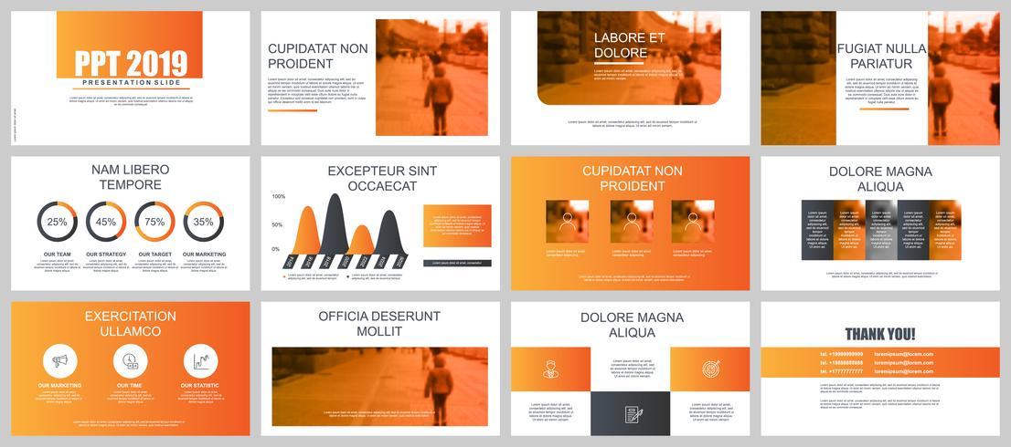 Diapositives de présentation Orange Business