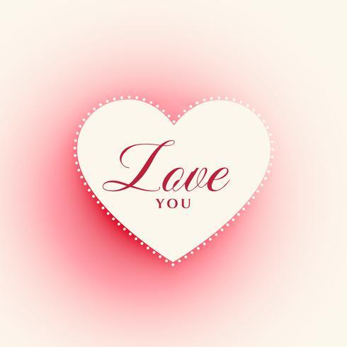 romantic heart shape design background