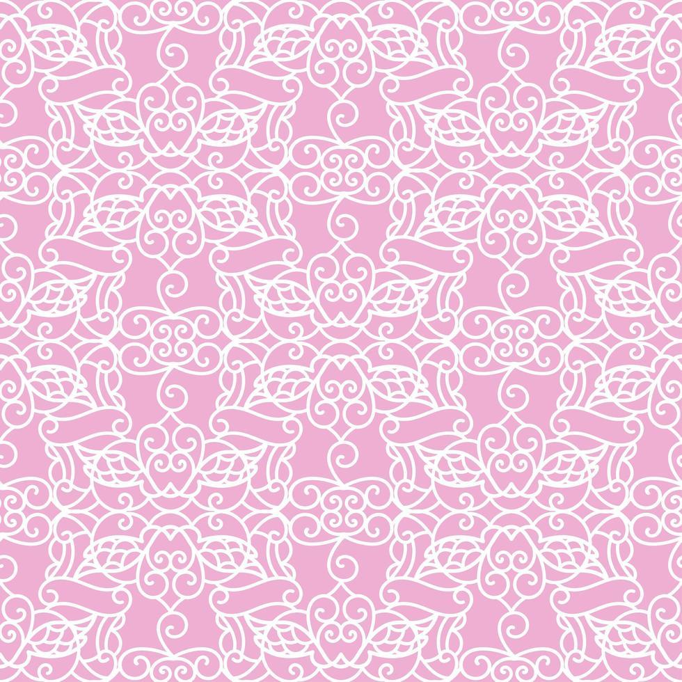 Ornamental Seamless Pattern. Laser Cut Template vector