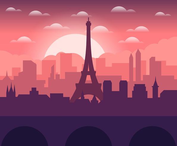 Illustrazione di Parigi vettore
