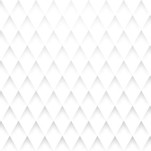 Diamantform Vit bakgrundsvektor