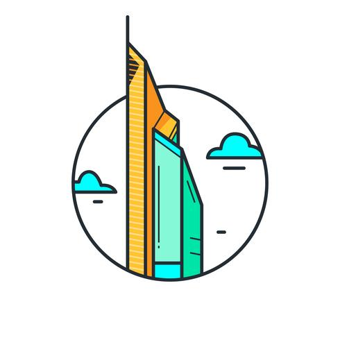 The Skyscraper Tower Dubai