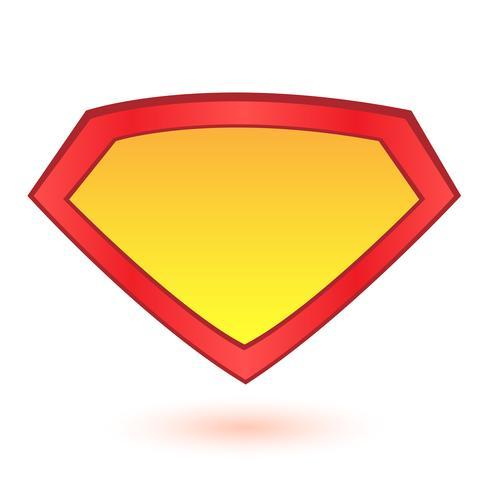 Plantilla de logotipo de superhéroe vector