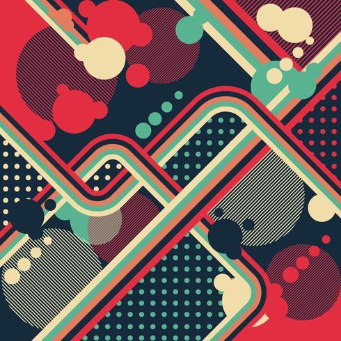 Vieja plantilla retra del diseño del fondo del estilo del vintage vector
