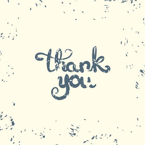 Tack. Inspirerande citat. Tacksägelsekort. vektor