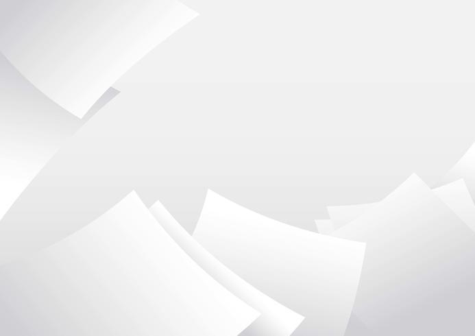 Sfondo di carta bianca vettore