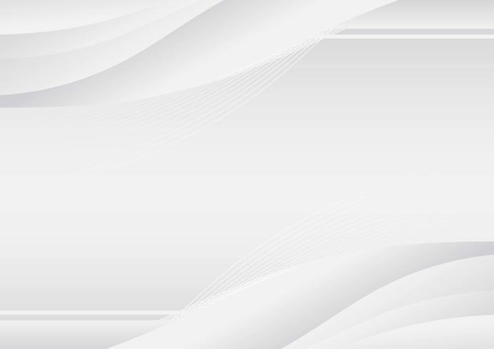 Sfondo bianco moderno vettore
