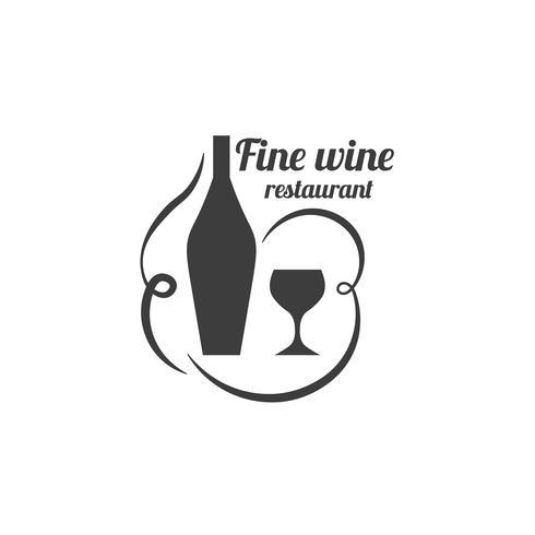 Rótulo de restaurante. Logotipo de serviço de comida.