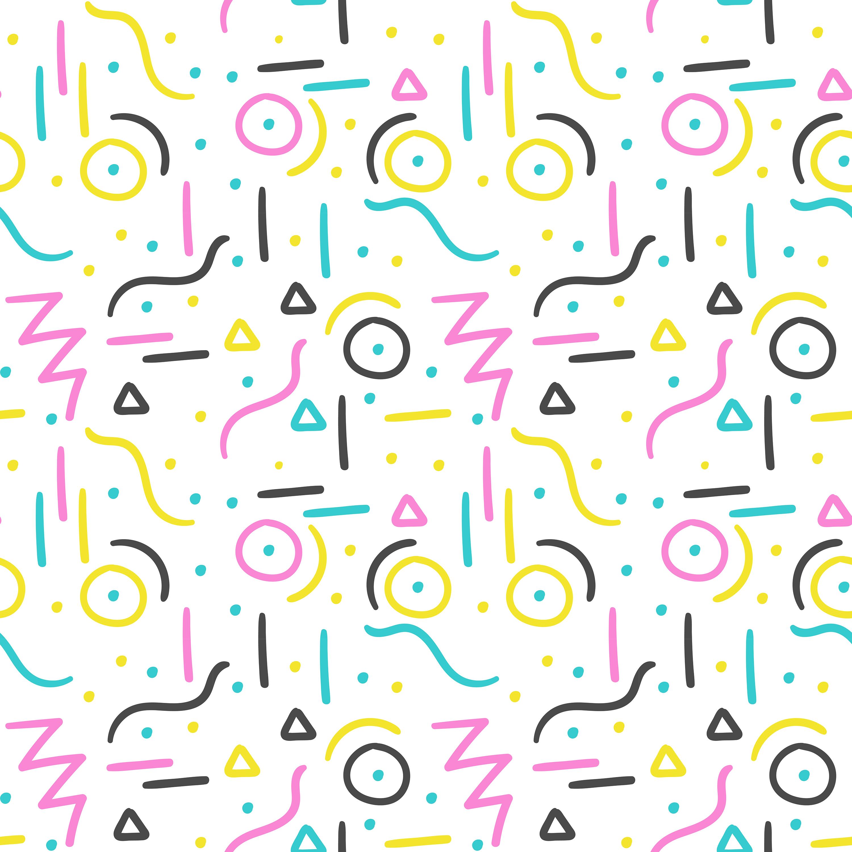 memphis pattern design download free vectors clipart