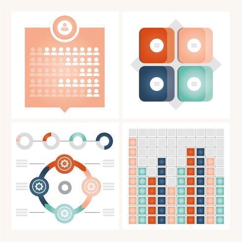 Vector infográfico ilustração