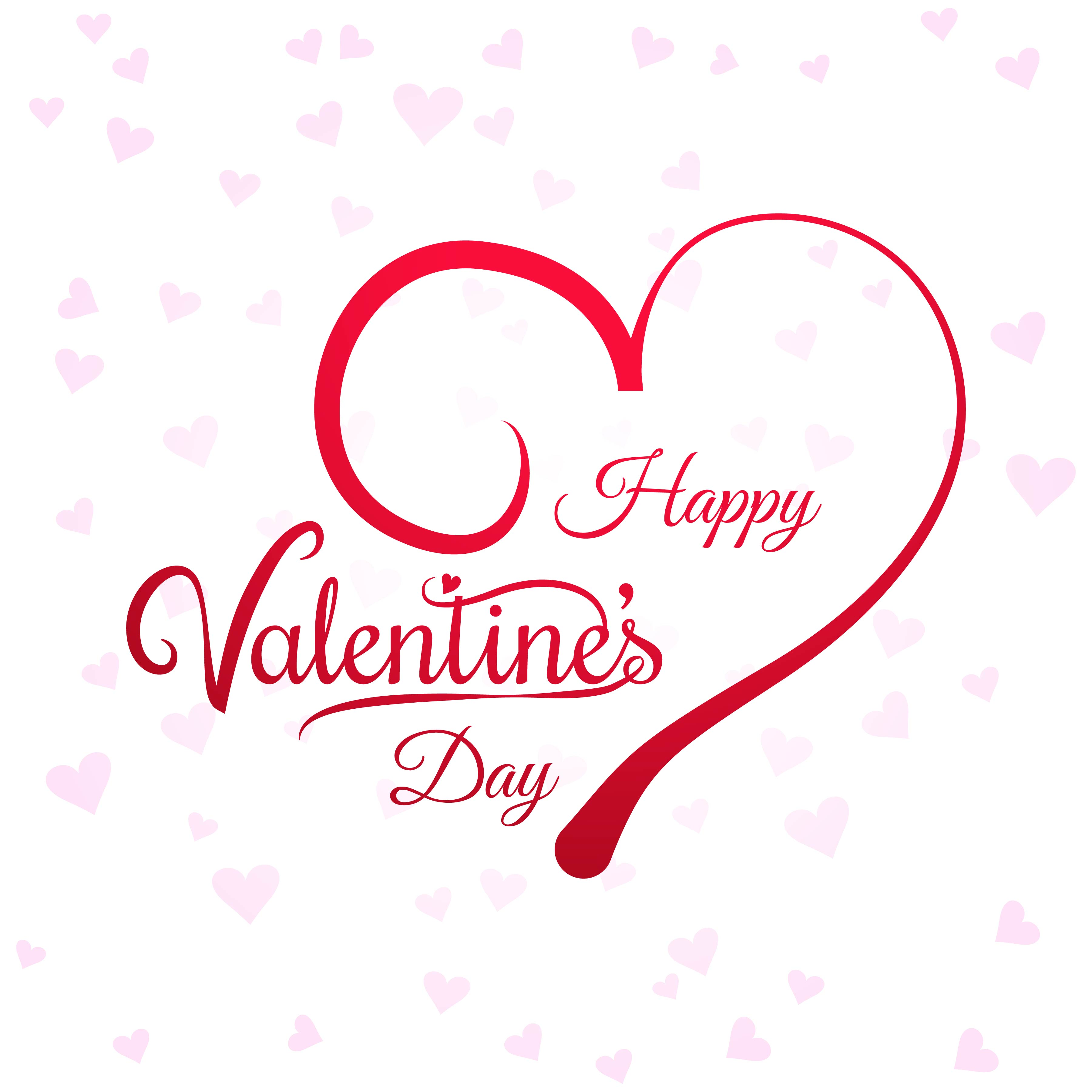 hearts for valentine's day card background 275408