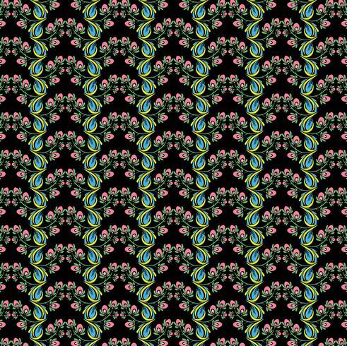 Bellissimo sfondo decorativo colorato motivo floreale