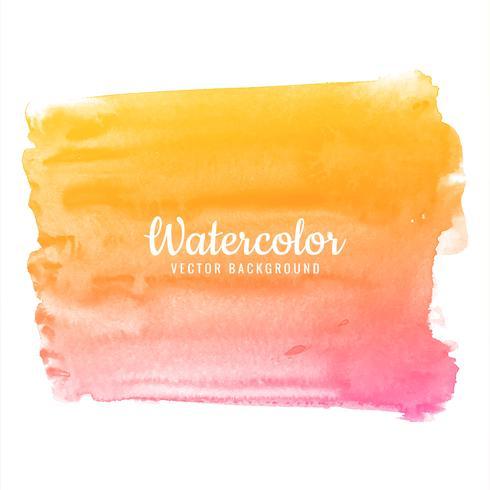 Resumen mano dibujar colorido acuarela trazos set diseño vector