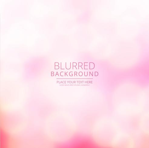 Beautiful colorful blurred background vector