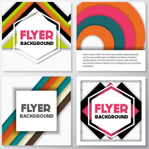fresh fashion background flyer style background Design Template