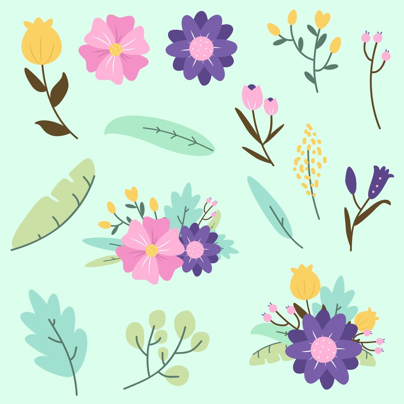 Flower Clip Art Free Vector Art - (2,701 Free Downloads)