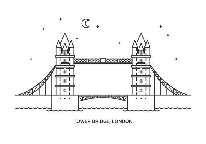 Tower Bridge vektor